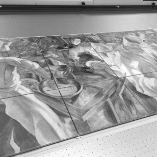 Direct printed wall tiles